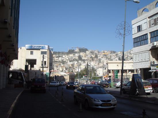 Rimonim Hotel Nazareth: Vista de frente do Hotel