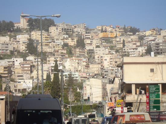 Rimonim Ha'Maayan Nazareth Hotel: Vista da cidade