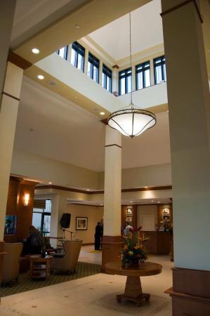 Hilton Garden Inn Palm Coast: Pavilion Lobby