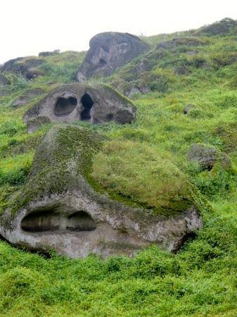 Reserva Nacional Lomas de Lachay: Rock formations