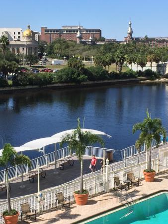 Sheraton Tampa Riverwalk Hotel: Room view