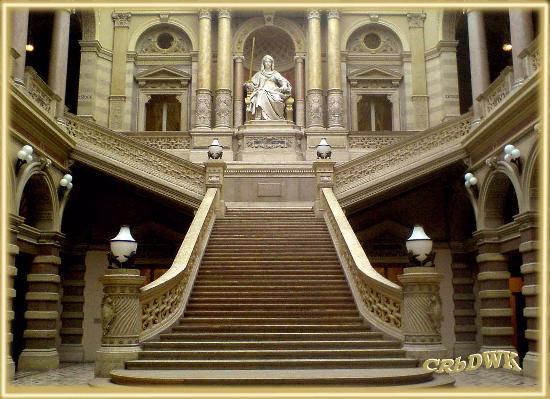 Historic Center of Vienna: Justizpalast, bedeutender Ringstassenbau von innen