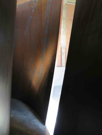 Dia:Beacon - Richard Serra - fun to explore inside these sculptures