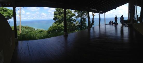 Anamaya Resort & Retreat Center: view from the yoga deck