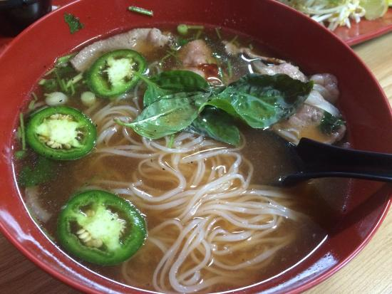 Saint Cloud, MN: Pho with beef- so much so tasty