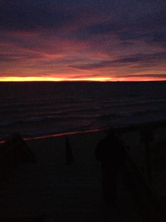 Eastport, MI: Sunset from the beach