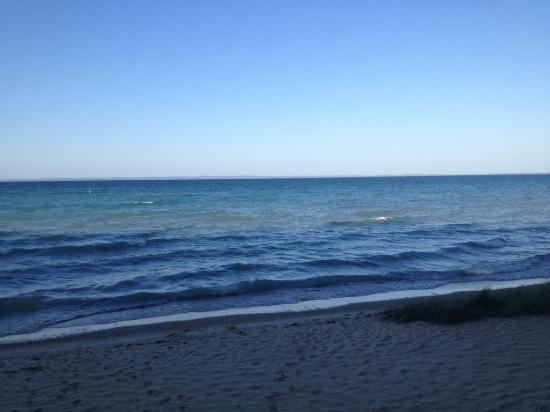 Eastport, MI: Morning at the beach