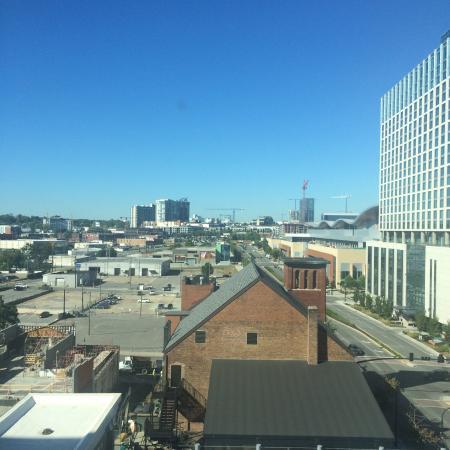 hilton garden inn nashville downtown convention center view from the pool - Hilton Garden Inn Nashville Downtown