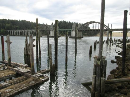 Suislaw River Bridge near Florence, Oregon