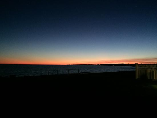 Madison Beach Hotel: Late evening sunset at MBH