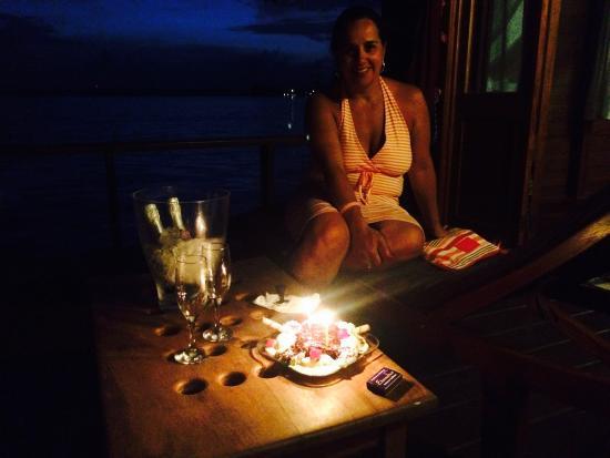Eclypse de Mar: Celebrating on the deck