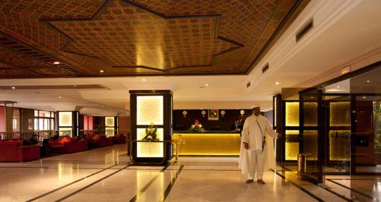 Hotel Kenzi Farah : RECEPTION