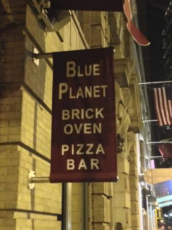 Blue Planet Grill: Signage