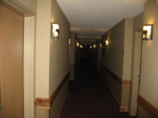 McCall, ID: Hallway