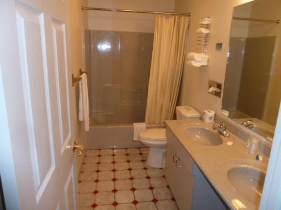 Sundowner Motel: Nicely updated bathroom