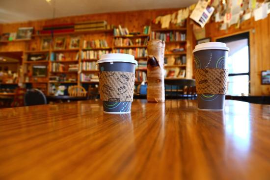 Falling Rock Cafe & Book Store : Mmm, mochas!