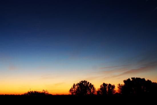 Mayetta, KS: Fall Sunrise