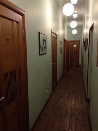 Zapovednik Mini Hotel: Коридор с номерами