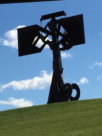 Mountainville, NY: One of the sculptures