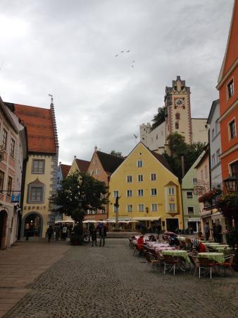 Main Street Of Fussen Bild Von Hotel Sonne Fussen