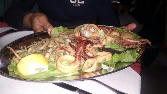 Menù pesce - Foto di La Terrazza, Sinnai - TripAdvisor