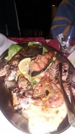 Menù pesce - Picture of La Terrazza, Sinnai - TripAdvisor