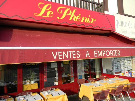 Le Phénix : снаружи
