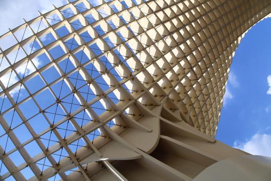 lattice structure! - Picture of Metropol Parasol, Seville ...