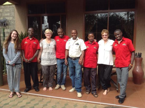 Korona House: Amazing staff at Korona who looked after our group for over a week. Great job team!