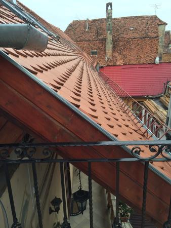 Hotel Casa Wagner: Вид с балкона