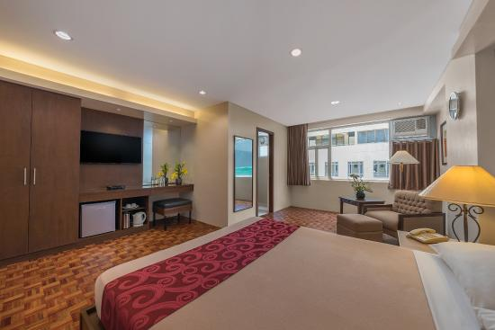 One Bedroom Superior Suite Picture Of Tropicana Suites Manila Tripadvisor