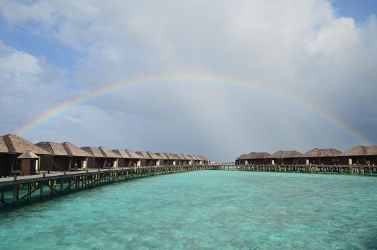 Lily Beach Resort & Spa: Somewhere under the rainbow