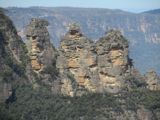 Sydney Tours-R-Us: The three sisters, Blue Mountains