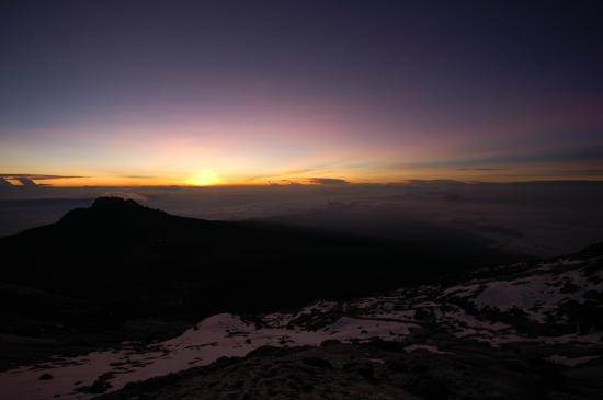 Kilimanjaro National Park, Tanzania: You won't get a more beautiful sunrise.