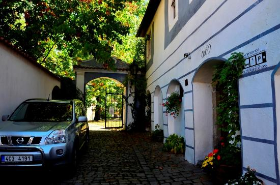 Pension U Kaplicky : Место для парковки у отеля