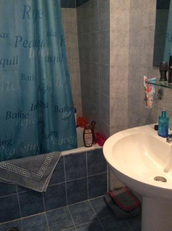Filoxenia Hotel: Bathroom