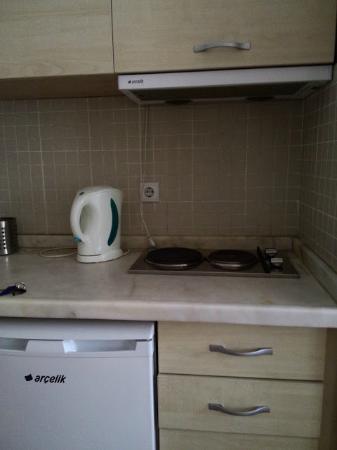 Mavi Konak: Чайник, плита в двухкомнатном номере