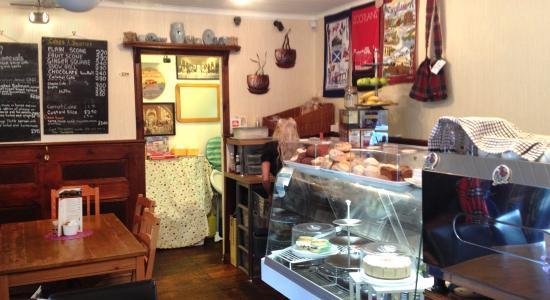 The Arrochar Tea Room : Interior