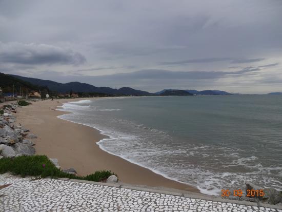 Pousada Penareia: Strand, direkt hinter der Pforte