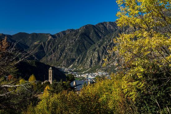 Escaldes-Engordany, Andorre : Iglesia de San Miquel d'Engolasters / Église de Sant Miquel d'Engolasters