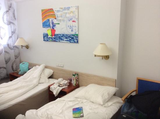 A1 Hotel : Жили в №210