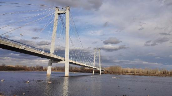 фото вантового моста красивые