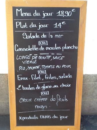 Choices Organic Cafe Menu