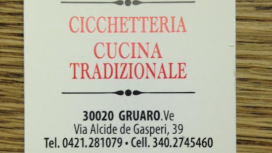 Gruaro, إيطاليا: Le Comari