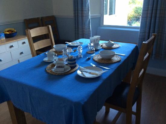 St. Mabyn, UK: Breakfast Room