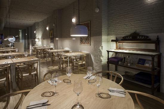 GatBlau Restaurant : menjador