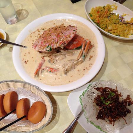 Butter Crab - Picture of Seafood Paradise, Singapore - TripAdvisor