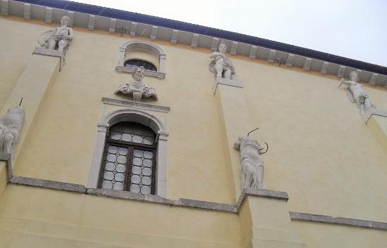 Sacile, Italy: Palazzo Ragazzoni-Flangini-Biglia
