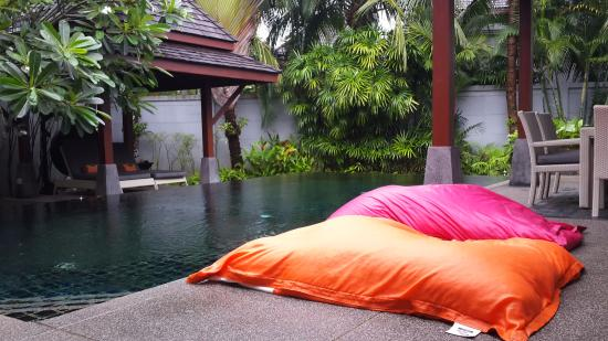 Remarkable Pool Bean Bags Picture Of The Bell Pool Villa Resort Gmtry Best Dining Table And Chair Ideas Images Gmtryco