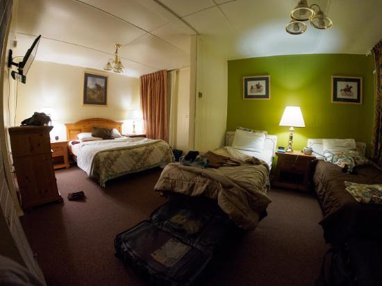 Independence Courthouse Motel: Notre chambre